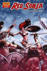 Red Sonja #56 Paul Renaud cover