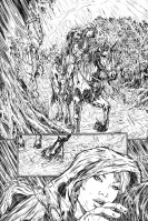 Red Sonja: Deluge preview page by Chris Bolson