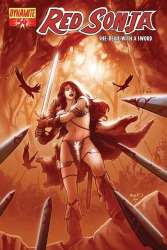Red Sonja #54 Paul Renaud cover
