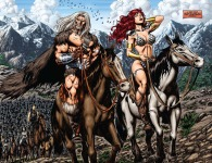 Red Sonja #47 Page 2-3