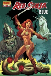 Red Sonja: Blue One Shot Mel Rubi cover