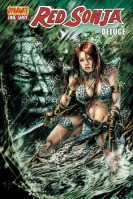 Red Sonja: Deluge Chris Bolson cover