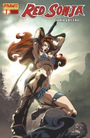 Red Sonja Goes East Alvin Lee cover