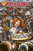 Red Sonja Goes East Joe Ng cover