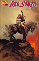 Red Sonja: One More Day Liam Sharp cover