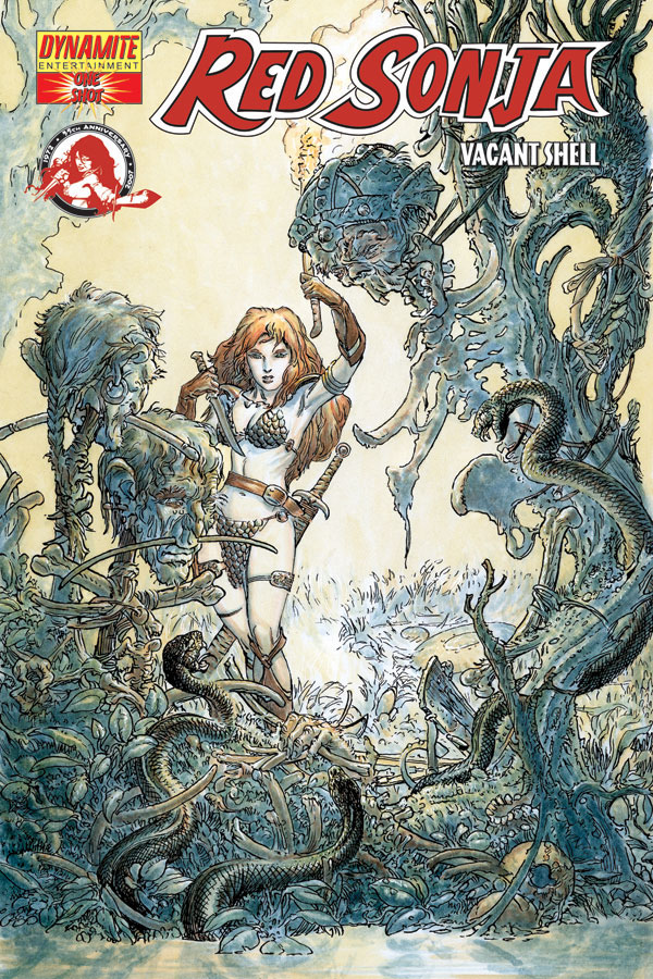 Brave Red Sonja Vacant Shell #1 Cover D Dynamite Other Modern Age Comics