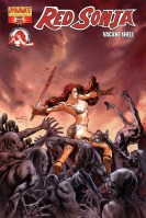 Red Sonja: Vacant Shell Paul Renaud cover