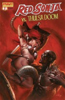 Red Sonja Vs. Thulsa Doom #1 Gabriele Dell'Otto cover