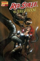 Red Sonja Vs. Thulsa Doom #2 Gabriele Dell'Otto cover