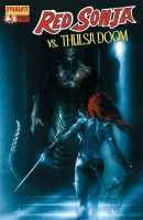 Red Sonja Vs. Thulsa Doom #3 Gabriele Dell'Otto cover
