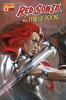 Red Sonja Vs. Thulsa Doom #4 Gabriele Dell'Otto cover
