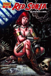 Red Sonja #61 Walter Geovani cover