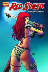 Red Sonja #62 Walter Geovani cover