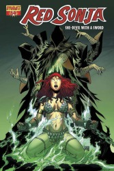 Red Sonja #64 Walter Geovani cover