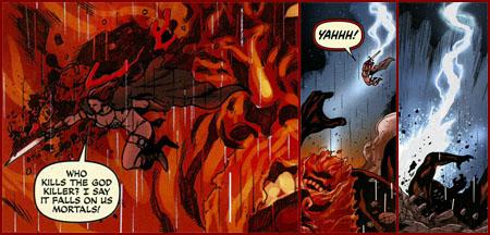Red Sonja slays Surtr