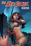 Red Sonja: Raven Frank Martin Jr. cover