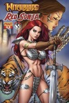 Witchblade/Red Sonja #4 Ale Garza cover