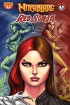 Witchblade/Red Sonja #2 Ale Garza cover