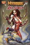 Witchblade/Red Sonja #3 Ale Garza cover