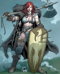 Red Sonja by Frank Cho