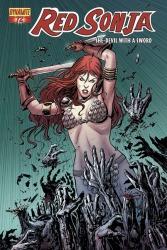 Red Sonja #72 Walter Geovani cover