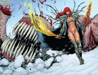 Witchblade/Red Sonja #4 Page 2 & 3