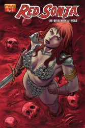 Red Sonja #75 Walter Geovani cover