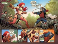 Red Sonja #69 Page 2 & 3