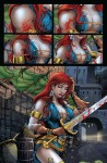 Red Sonja: Unchained #1 Page 2