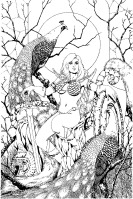 Red Sonja cover by Colleen Doran
