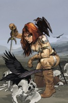 Red Sonja cover by Fiona Staples
