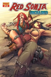Red Sonja: Unchained #2 Mel Rubi cover