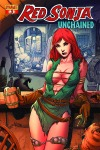 Red Sonja: Unchained #3 Mel Rubi cover