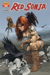 Red Sonja #1 cover by Fiona Staples