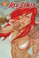 Red Sonja #1 cover by Jenny Frison