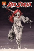 Red Sonja #1 cover by Nicola Scott