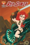 Red Sonja #1 cover by Stephanie Buscema