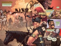 Red Sonja #74 Page 2 & 3