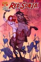 Red Sonja #2 cover by Jenny Frison