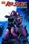 Red Sonja: Unchained #4 Walter Geovani cover