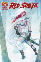 Red Sonja #3 cover by Jenny Frison