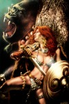 Red Sonja Jay Anacleto cover