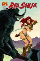 Red Sonja #4 cover by Ming Doyle